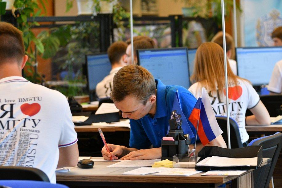 Cергей Собянин поздравил учащихся с Днем студента
