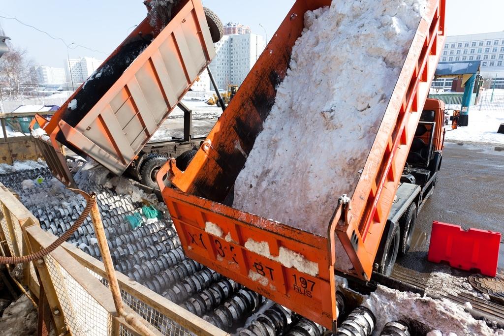 На снегосплавных пунктах столицы утилизировали порядка 13 миллионов кубометров снега