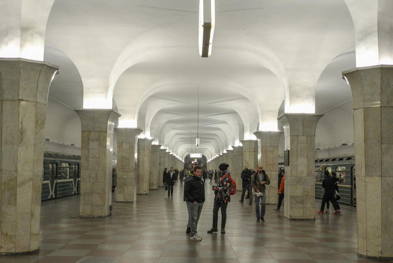 Реставрация исторического вестибюля станции «Кропоткинская» завершится летом