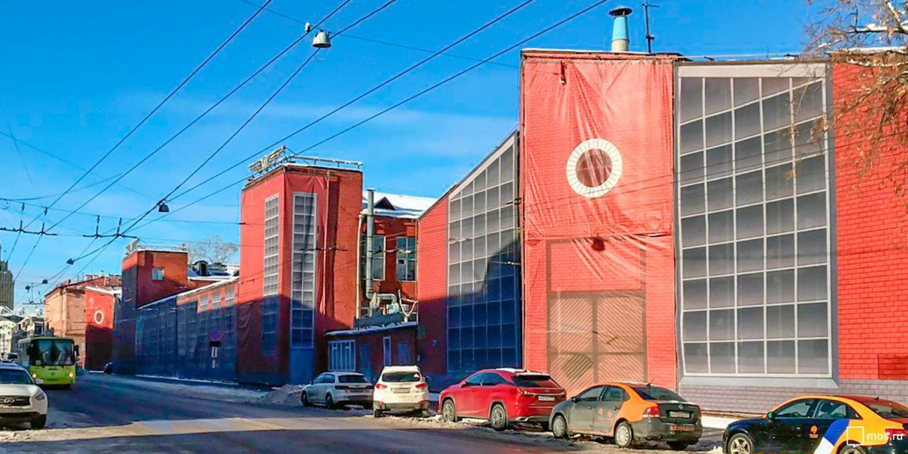 Гараж-подкову на Новорязанской улице отреставрируют