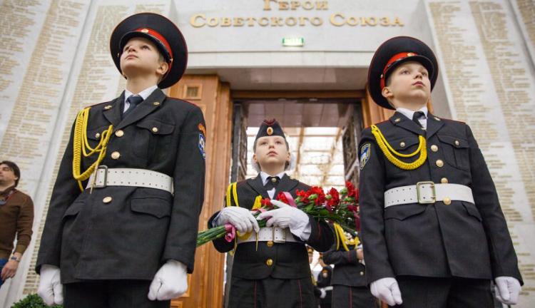В День кадета ученики трех московских школ дадут кадетскую клятву в Музее Победы