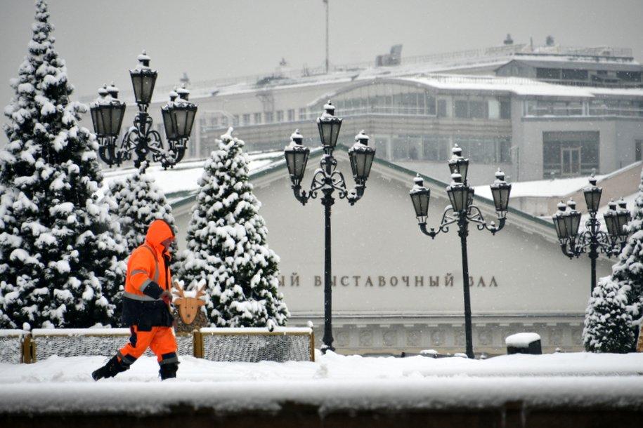 В последние дни зимы москвичей ожидает снег и 10-градусные морозы