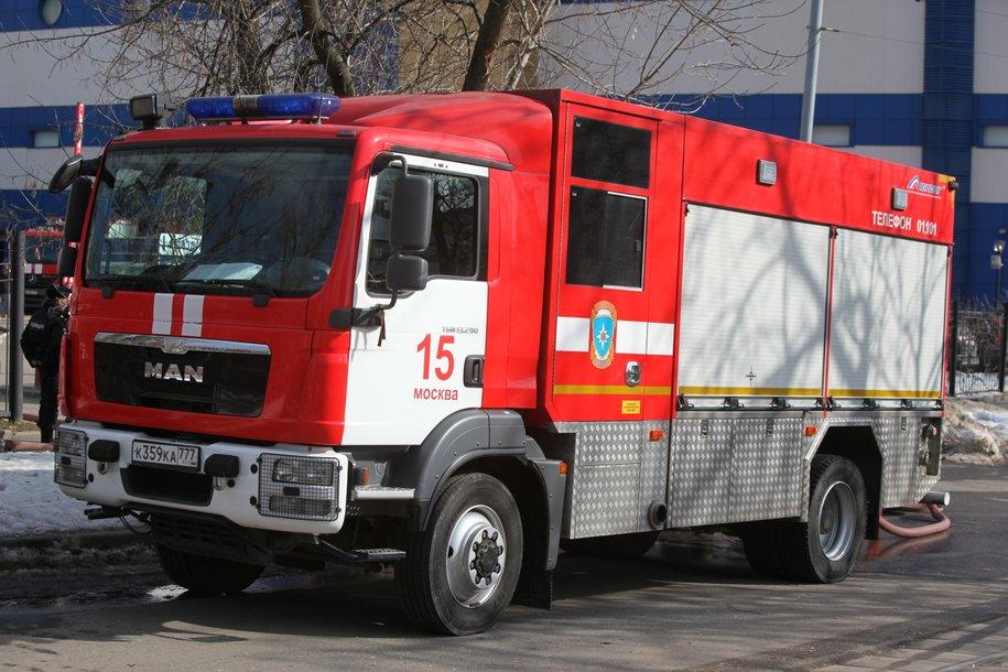 Депо на 4 пожарные машины построят в поселении Рязановское Новой Москвы