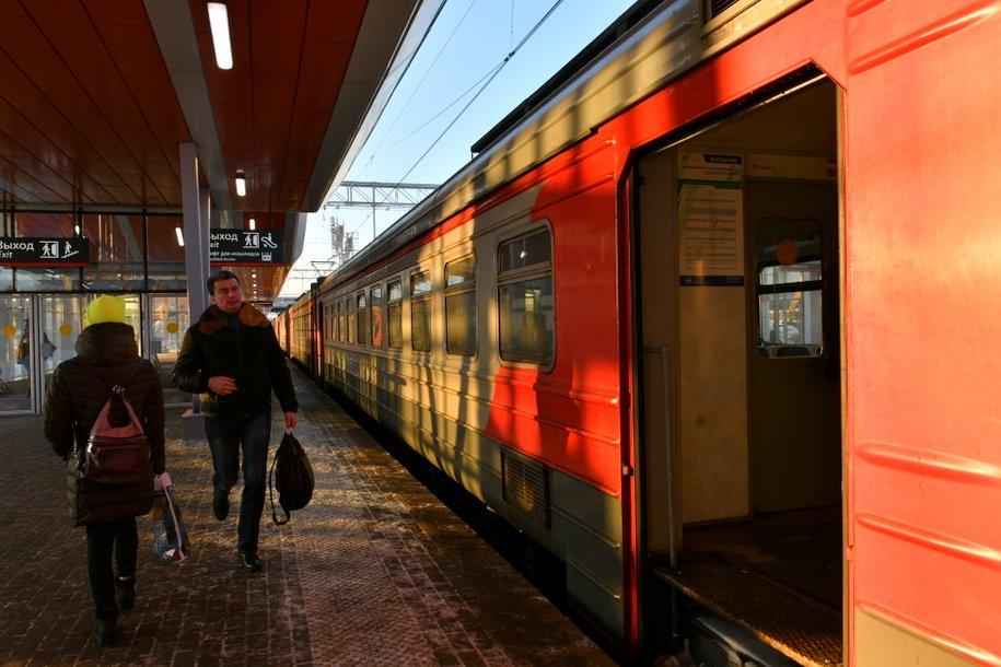 На Курском направлении МЖД задерживается движение поездов