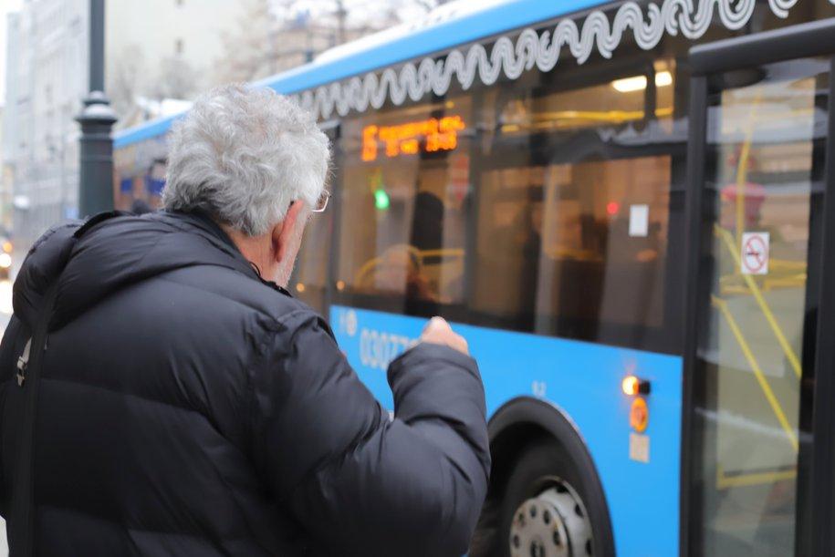 Ежедневно наземным транспортом в Москве пользуются более 7 млн человек