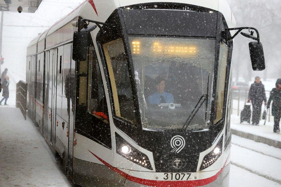 На Симферопольском бульваре восстановлено трамвайное движение