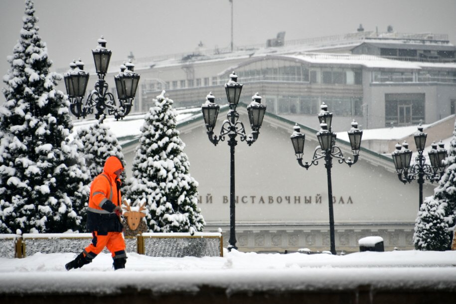Облачная погода, мокрый снег и до 3 градусов тепла ожидается сегодня в столичном регионе