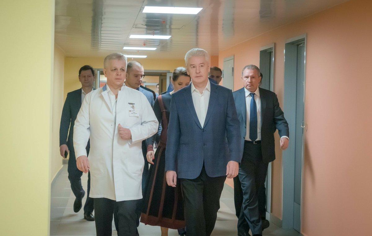 Новый перинатальный центр в ГКБ № 67 будет открыт в 2019 году