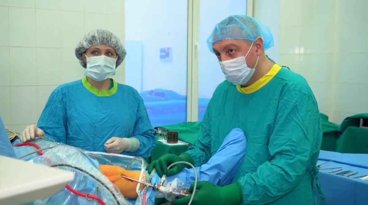 Столичные травмотологи впервые иупользовали уникальную трансплантацию