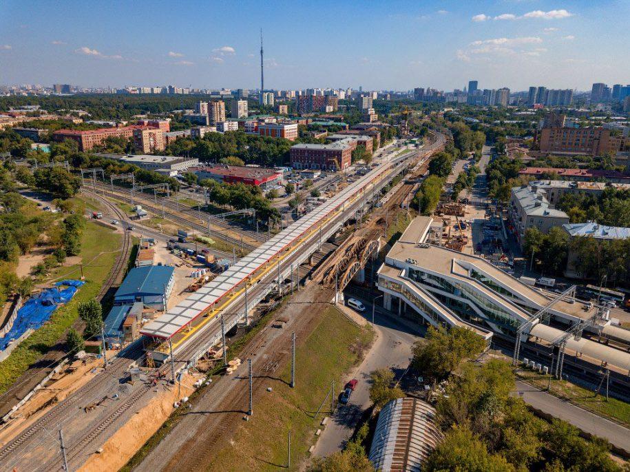 В составе ТПУ «Окружная» появится пешеходный переход на МЦК и МЦД