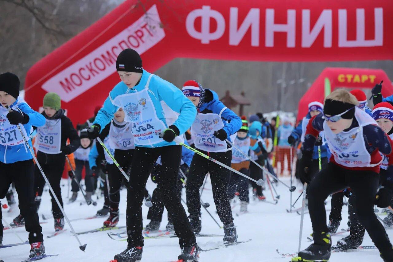 В столице состоялся Московский этап XXXVII открытой  Всероссийской массовой лыжной гонки «Лыжня России – 2019»