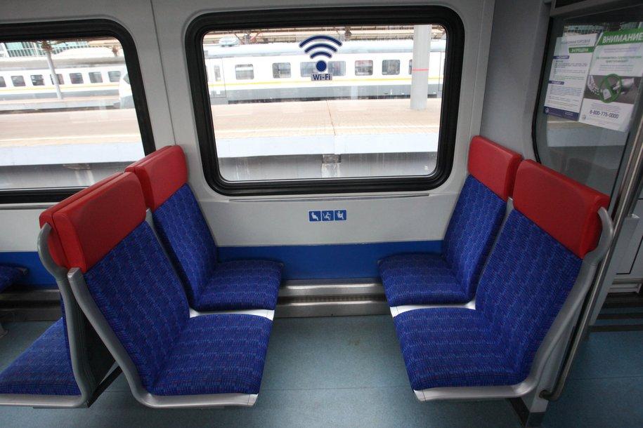В вагонах поездов МЦД будет обеспечен доступ к городскому Wi-Fi