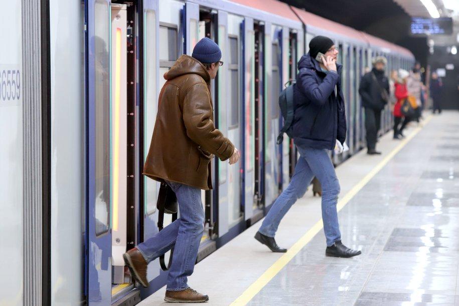 На Таганско-Краснопресненской линии метро движение поездов введено в график