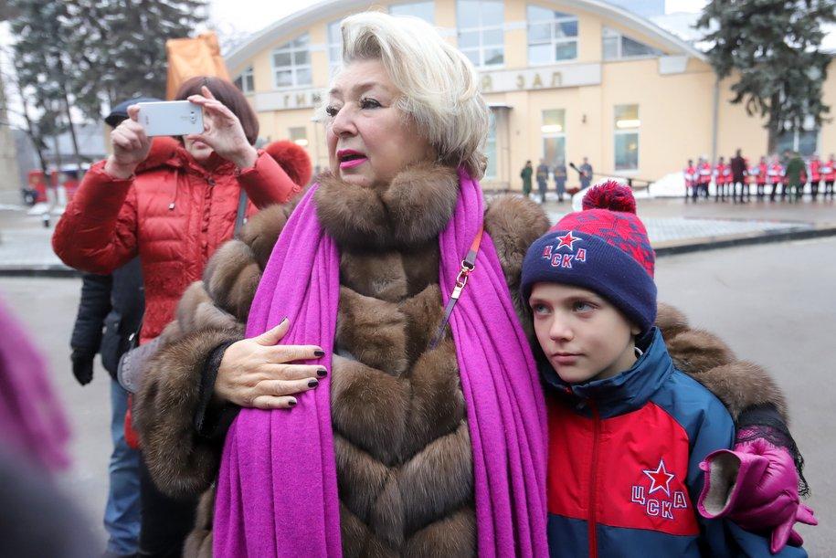 Сергей Собянин поздравил с днём рождения тренера по фигурному катанию Татьяну Тарасову
