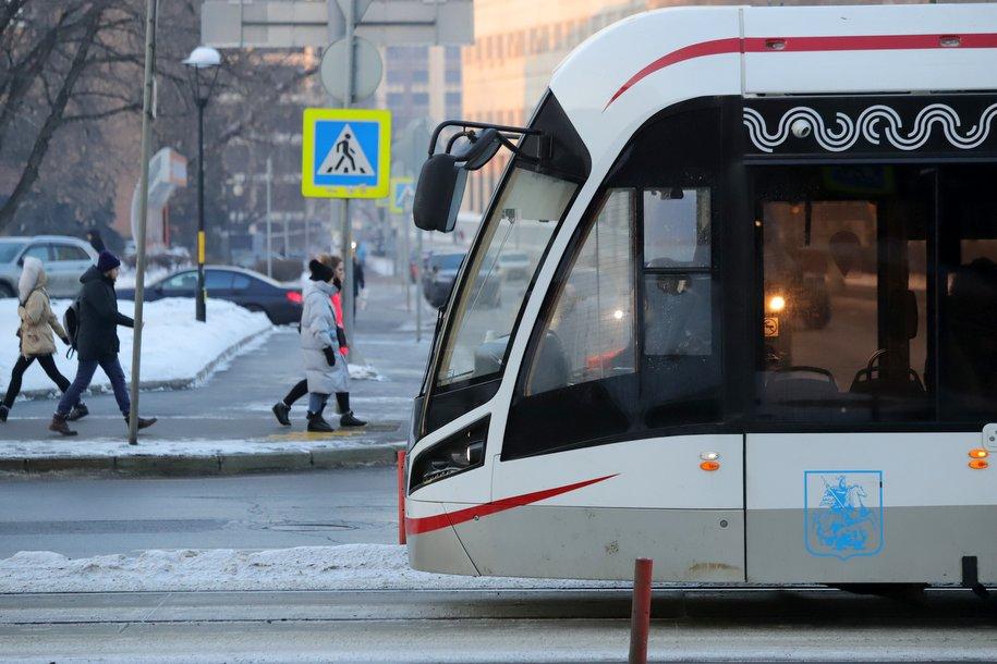Трамвайную линию в Бирюлёво начнут строить через два-три месяца