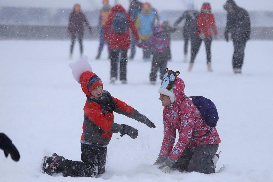 Мороз и солнце в Москве сменятся в среду оттепелью и мокрым снегом — Фобос