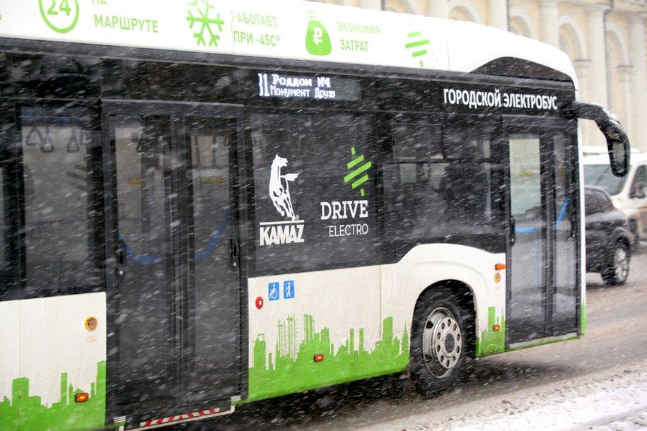 Завершились опытные испытания электробуса второго поколения в Подмосковье