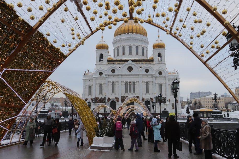 Пешеходная зона от Храма Христа Спасителя до Якиманской набережной будет реконструирована