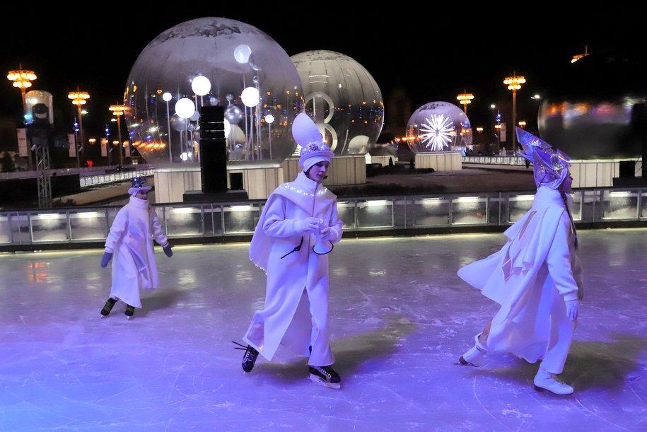 Акция «Ночь на катке» пройдет в 16 столичных парках 28 февраля