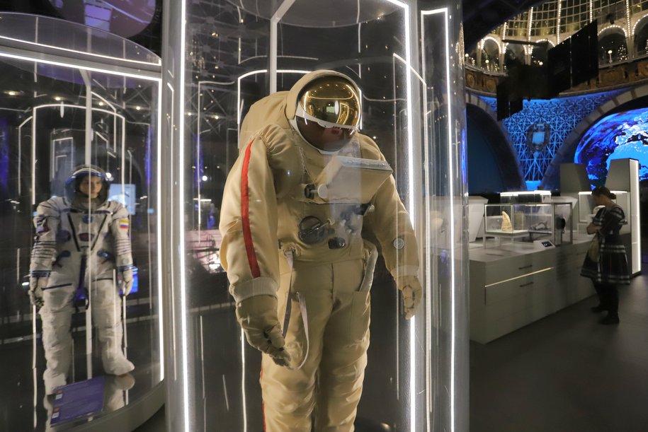 В павильоне «Космос» на ВДНХ появились интерактивные детские экспонаты