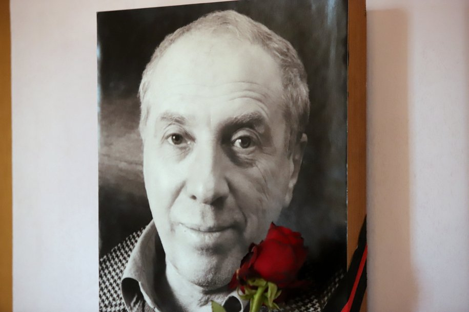 Народного артиста Сергея Юрского похоронили на Аллее актеров на Троекуровском кладбище