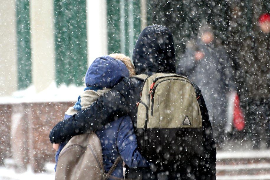 Снежная метель придёт в Москву предстоящей ночью и продлится до пятницы