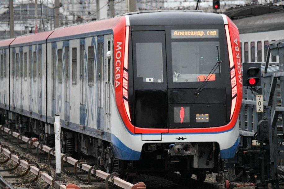 В московском метро начались испытания поезда «Москва-2019»