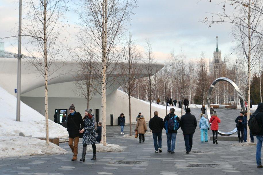 Ледяную пещеру в парке «Зарядье» вновь откроют для посетителей в апреле