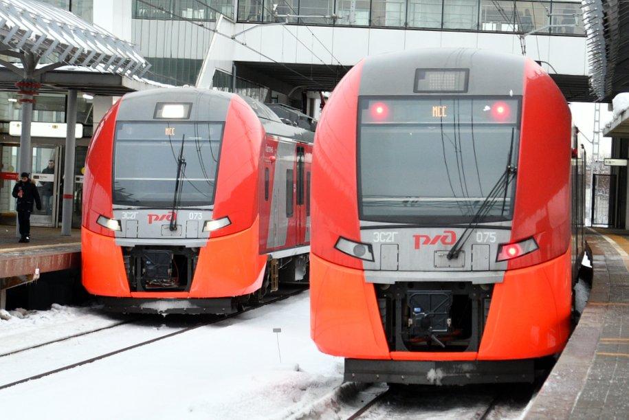 Пассажиров трех столичных вокзалов призвали пользоваться МЦК в связи с закрытием участка «красной» ветки метро