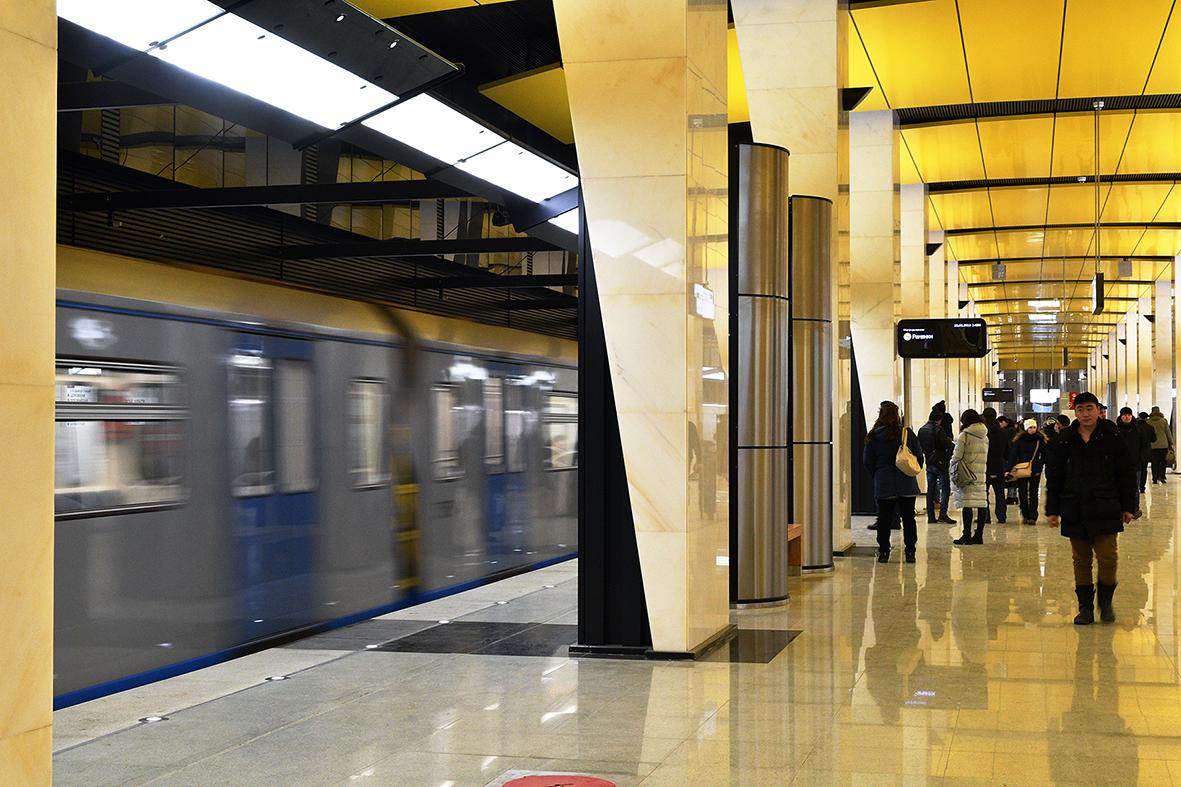 По Большому кольцу проезжают уже больше 100 тысяч пассажиров — Собянин