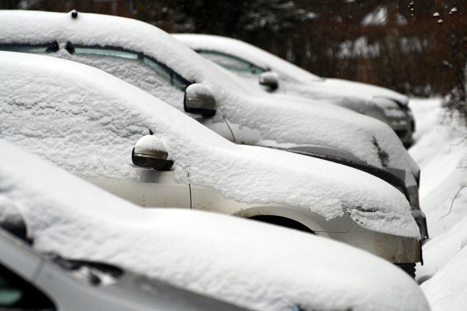 Из-за снегопада в Москве увеличилось количество незначительных ДТП