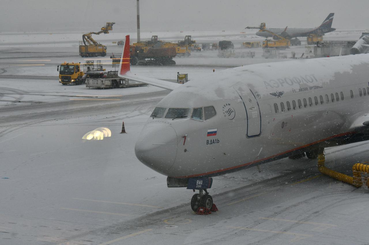 «Аэрофлот» отменил 75 рейсов из-за плохих погодных условий