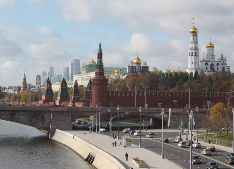 Cнег в Москве почти полностью растаял