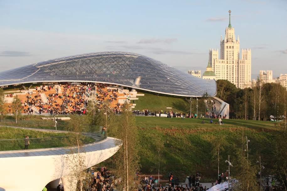 Парк «Зарядье» станет одной из основных площадок фестиваля «Крымская весна»