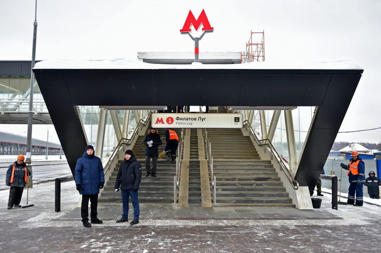 Участок Сокольнической линии метро в Новой Москве готов на 90%
