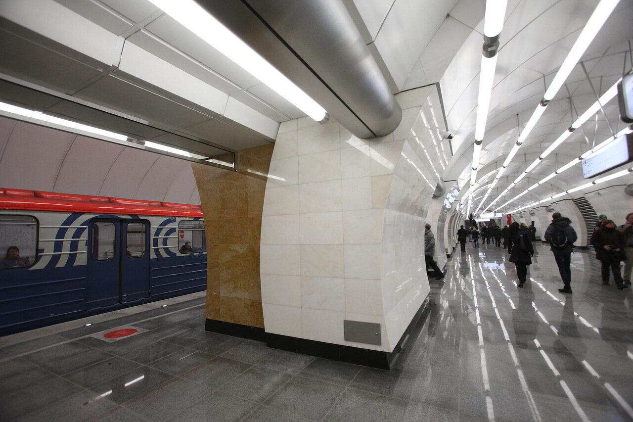 Протяженность будущей Рублево-Архангельской линии Московского метрополитена составит около 17 км