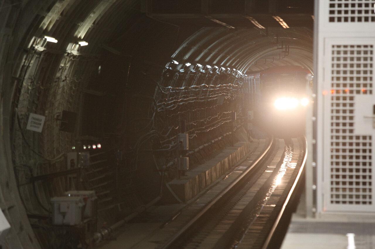 Закрытый по 5 апреля участок Сокольнической линии метро могут открыть на день раньше