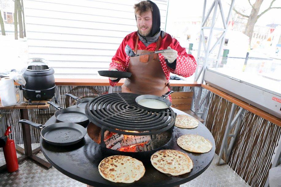 Более 60 тыс. порций блинов съели посетители ВДНХ на масленичной неделе