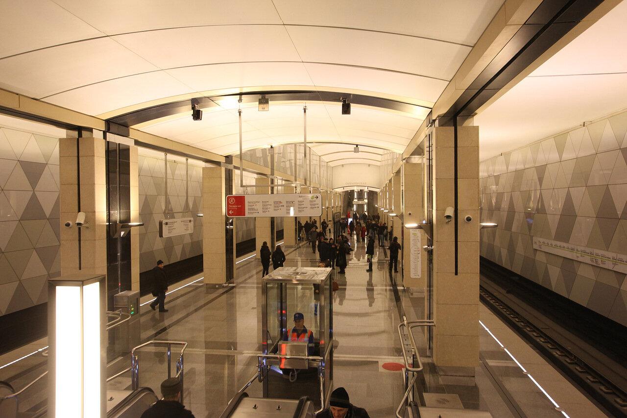 Утвержден проект продления салатовой линии метро до станции «Лианозово»