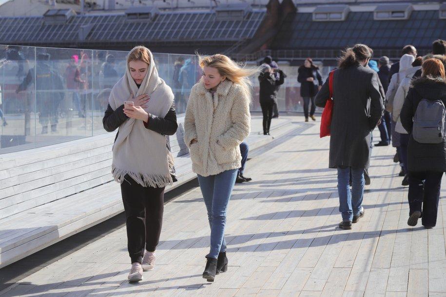 Сегодня в Москве ожидается облачная погода и до 11 градусов тепла