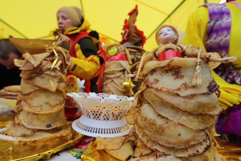 120 тысяч порций блинов купили в первые пять дней «Масленицы»
