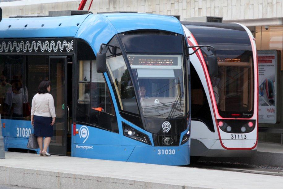 Горожане выбирают трамваи «Витязь‑Москва»