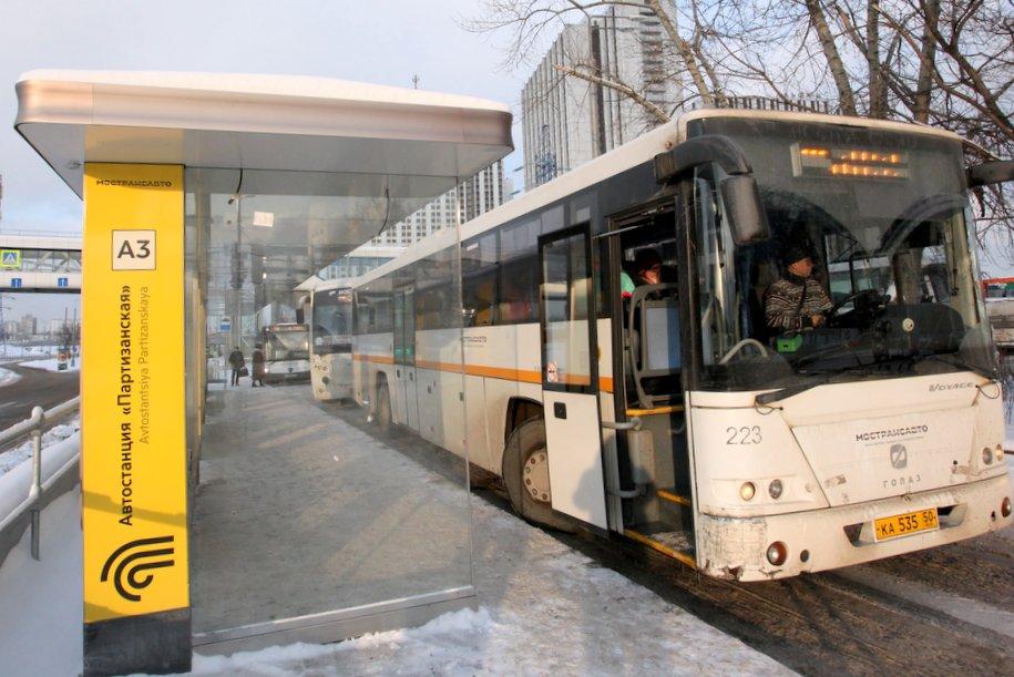 Из-за закрытия станций метро Сокольнической линии изменится схема движения 860 маршрута Мострансавто