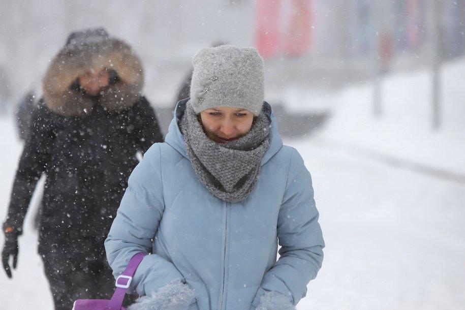 Воздух в Москве прогрелся с минус 10 до минус 2,5 за три часа