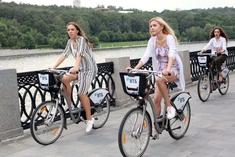 Парк велосипедов в столичном прокате увеличится в сезоне 2019 г. до 5,1 тыс. штук