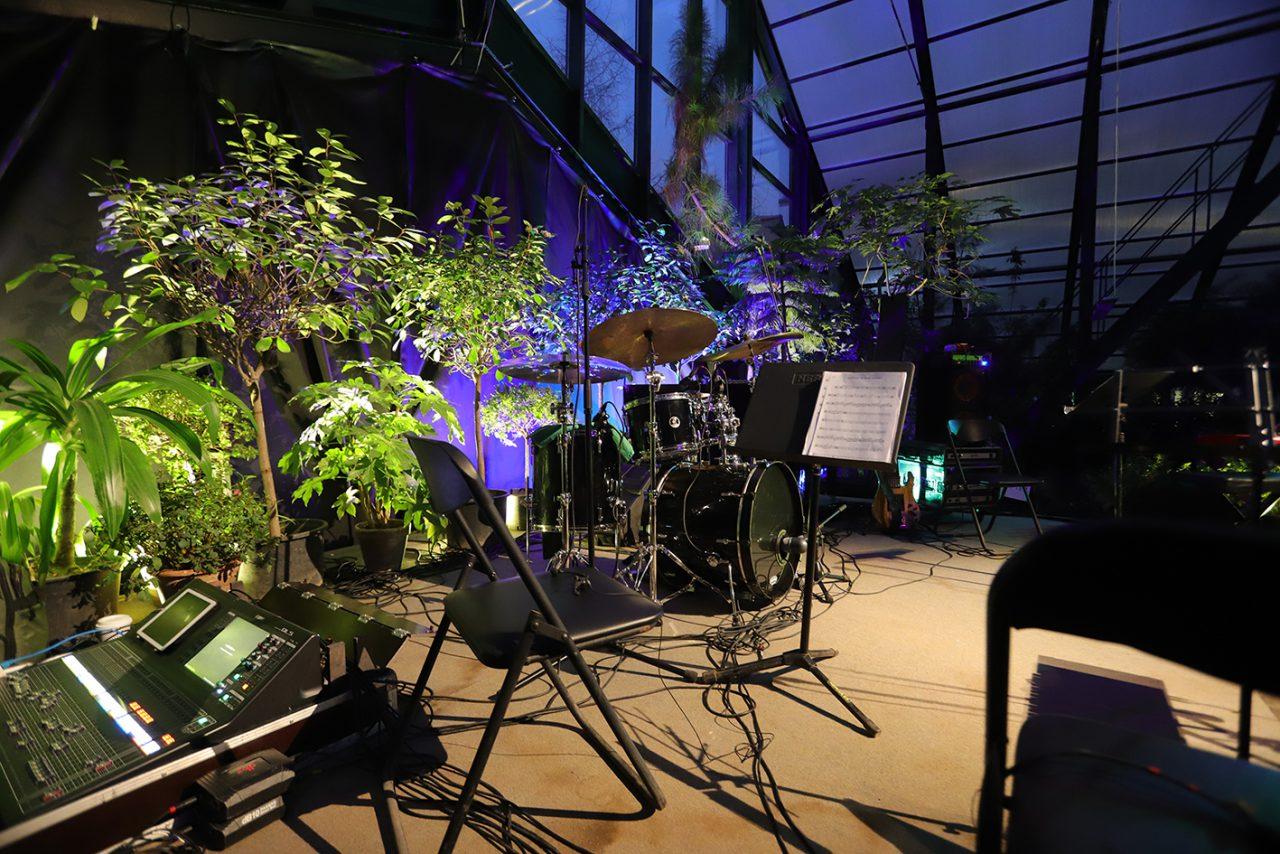 В «Аптекарском огороде» прошел джазовый концерт всемирно известного ансамбля