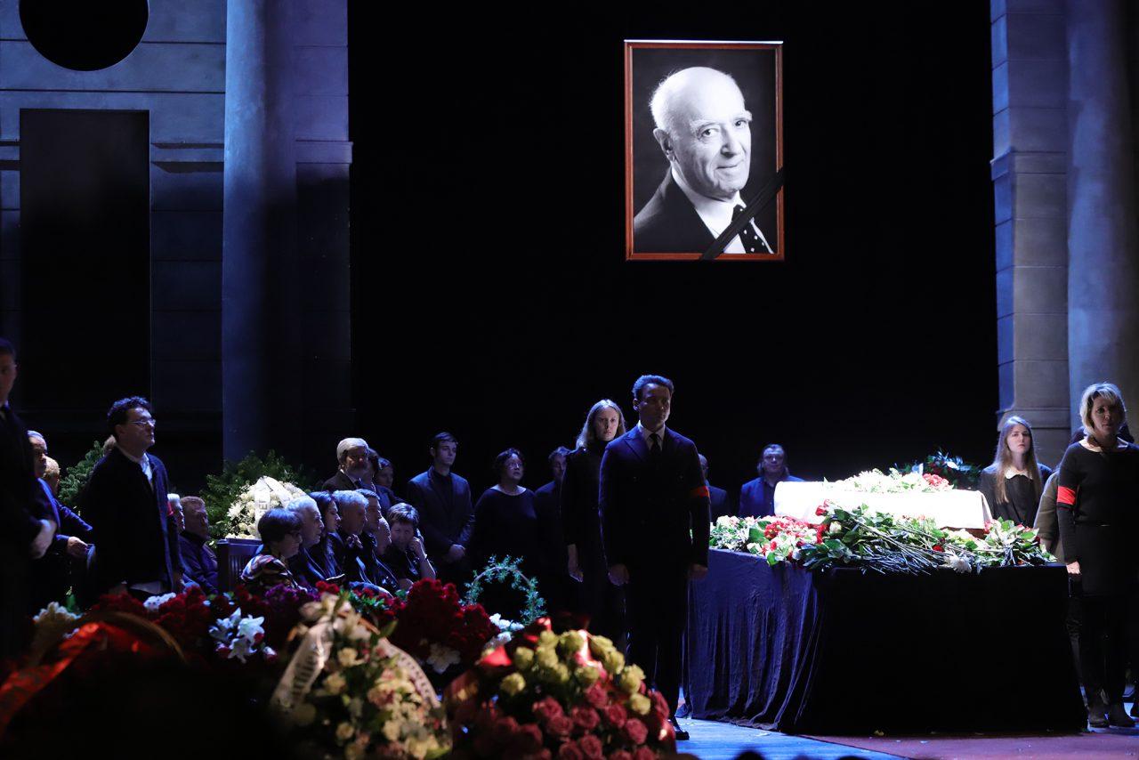 В Москве началась церемония прощания с Владимиром Этушем