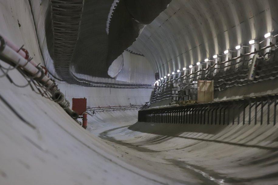 Прокладку левого тоннеля между станциями «Хорошевская» и «Улица Народного ополчения» начали на БКЛ метро
