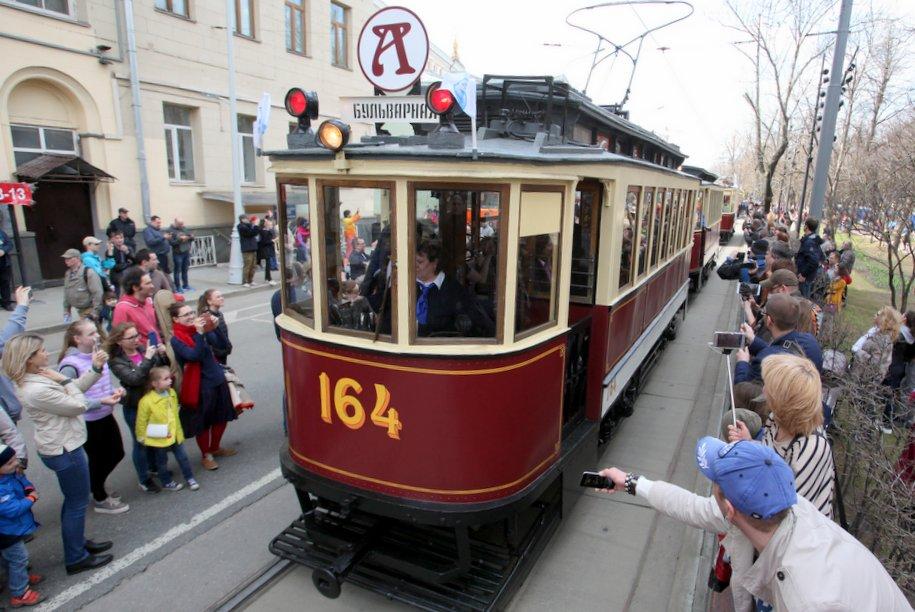 Парад трамваев пройдет в Москве