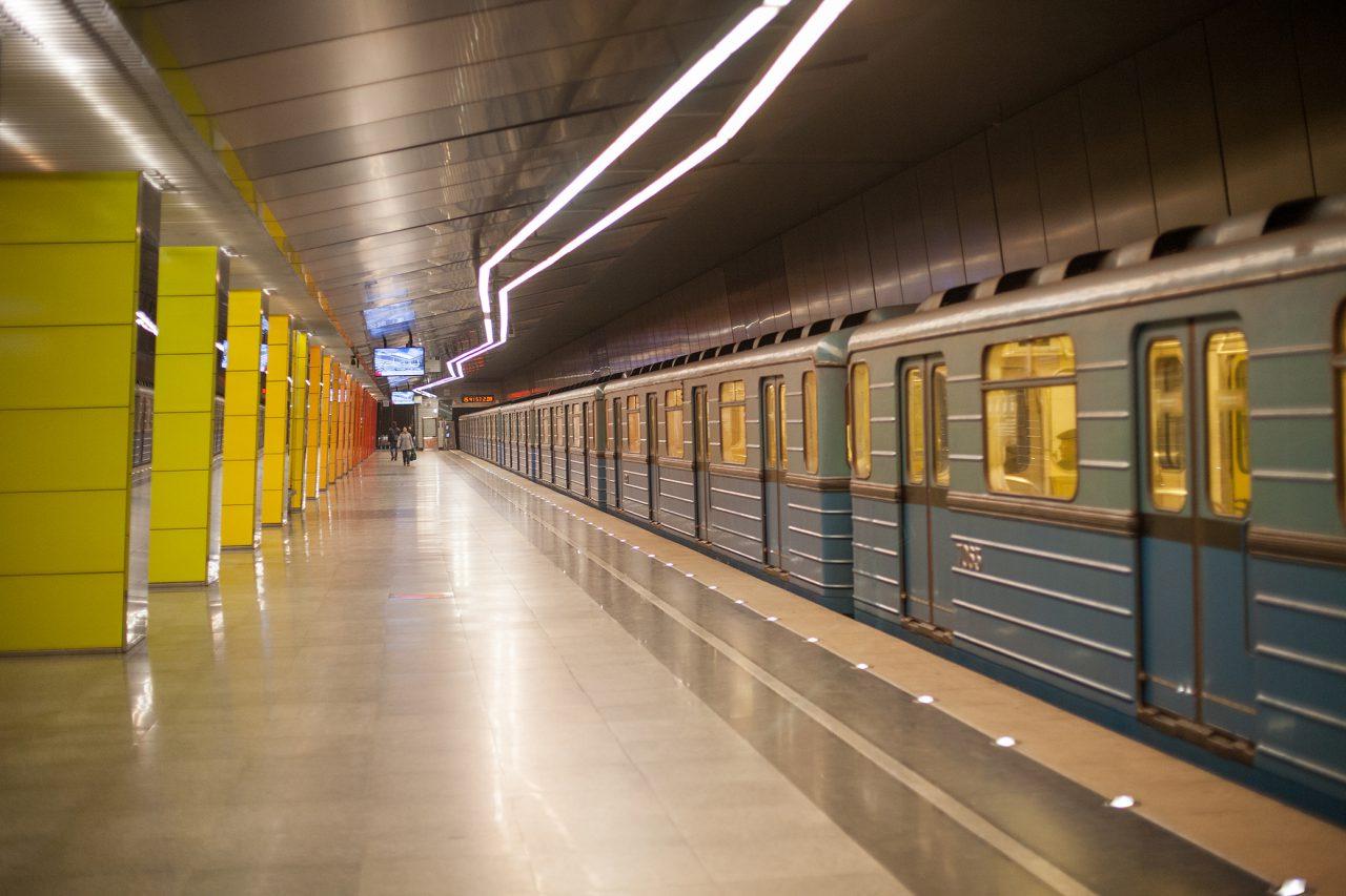 Участок фиолетовой ветки метро закроют с 6 по 10 апреля из-за строительства Некрасовской линии